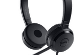 Dell Pro Stereo Headset UC350 Black 520-AAMC