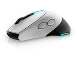 Alienware Gaming Mouse RGB – AW610M – Lunar light